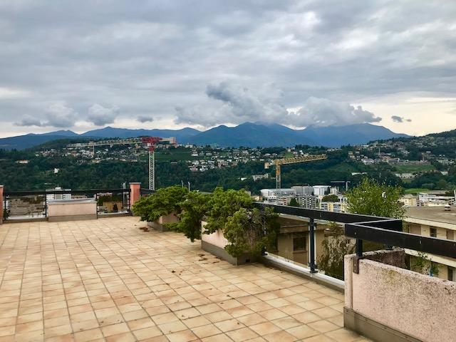 Pregassona – attico 3.5 locali con terrazza panoramica